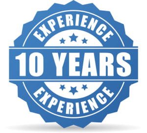 10 Years experience